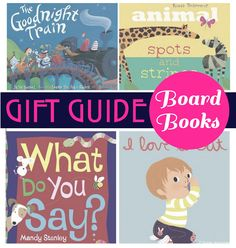 Everyday Reading: Gift Guide: Board Books
