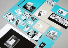 cla-se ID package, bold type, black, white turquoise