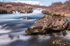 Miðfoss Waterfall - Clickasnap