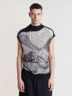 Rick Owens Men's Knitted Top