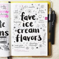 The warm weather has me craving ice cream, what are your favorite ice cream flavors?
