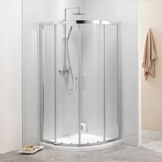 V8 Framed Quadrant Shower Enclosure 1000