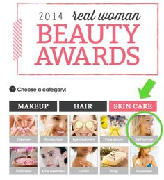 Help nominate these amazing Beauty Blogger's products for a SheKnows.com Real Woman Award! #self-tanner #hairproducts #nails #skincare