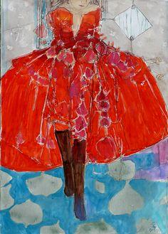 Robe rouge plein sud, Stéphane Dauthuille