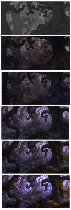 Forest - Tutorial and Steps by AlexTooth.deviant... on @deviantART