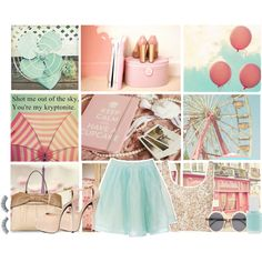 They Told Me That I Can. on Polyvore-Love pastels they are so sweet and feminine