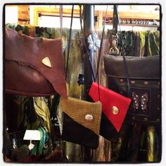 Purses (from L to R)  Breezy Mountain Leather Buffalo hide bag with a 04afde9c55841