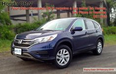 The Honda CR-V has been a long-time crossover/SUV favourite with Canadians.