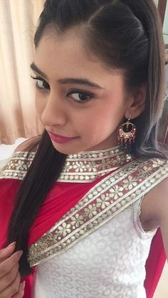 <3 <3 <3 <3 <3 <3 <3 <3 <3 <3 <3 <3 Indian Dress Up, Ethnic Trends, Love Selfie, Niti Taylor, Cute Girl Pic, Taylor Dress, Celebs, Celebrities, College Outfits