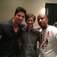 Michael Trucco, Lee Norris, and Antwon Tanner. #Returntotreehill2