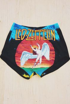 PRE-ORDER Led Zeppelin T-Shirt Shorts $85.00