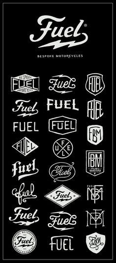 Creative Fuel, Logo, Vintage, Logos, and Motorcycles image ideas & inspiration on Designspiration Vintage Logos, Vintage Designs, Retro Logos, Vintage Type, Vintage Airline, Vintage Hipster, Vintage Logo Design, Vintage Branding, Typo Logo