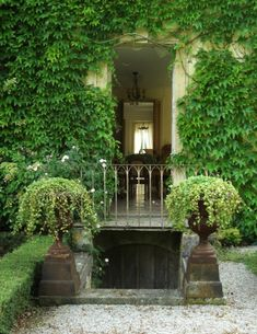 and Century chateau located in the heart of Lower Normandy, in the Orne Region. This vast family residence has been artfully restored and furnished by it's British Fashion Designer Owner.