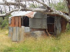 Dunsmuir Huts , Wombat Plain, Vic.