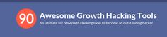 90 Fresh Growth Hacking Tools and Tips To Boost Conversions Growth Hacking, Hacks, Fresh, Tools, Instruments, Tips