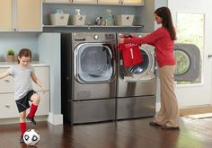 It's important to have the proper washing machine to care for everyone in your family. Check out our buying guide to help you find the best machine for your family's active lifestyle.