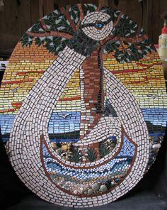 Tane and Tangaroa's Children Mosaic, Contemporary, Children, Artist, Young Children, Boys, Mosaics, Kids, Artists