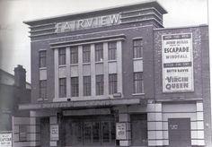 The Fairview Grand Cinema, Dublin, Ireland. Dublin Map, Dublin City, Dublin Ireland, Old Pictures, Old Photos, Molly Malone, Dublin Street, Old Irish, Vintage Travel Posters