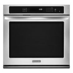 30-Inch Convection Single Wall Oven, Architect® Series II (KEBS109BSS ) |  Need DirectBuy to check the price.
