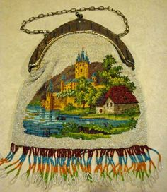 German beaded purse - collection of Kathy Gunderson