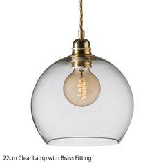 Glass Pendant Lights - Graham & Green £145
