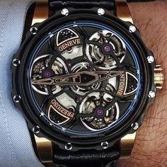 Never before have I fallen in #love with a #watch. This is one insane #pieceofart.  #antoinepreziuso could not have done a better job to make the father of all #tourbillon. A #trippletourbillon #tourbillondetourbillons. Amazing #timepiece. #bucketlist by akshaygopal