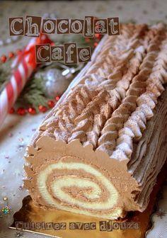 Pour votre buche de Noel, voici une recette très facile adaptée aux débutant(e)s. Cette bûche de noël est composée d'un roulé moelleux et ganache