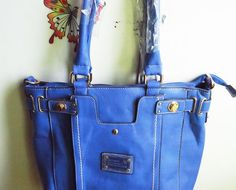 Bolsa Azul Klein - enjoei