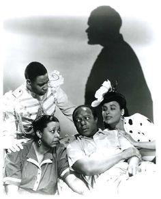 "Kenneth Spencer, Ethel Waters, Eddie ""Rochester"" Anderson & Lena Horne"