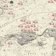 The shipwrecks of Boston Harbor.