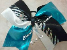 On sale for $12.00. Sale ends  3/29/13. Regular price. $15.00.Check out our bows on Instagram @Cheerbowsandbeyond or www.Cheerbowsandbeyond.com also email us at Cheerbowsandbeyond@yahoo.com