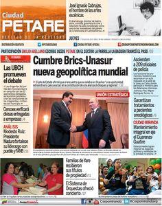 Cuidad Petare (2014 -), Venezuela Newspaper Cover, Director, Free, Step By Step, Venezuela