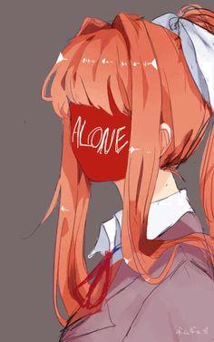 Doki Doki Literature Club   Monika