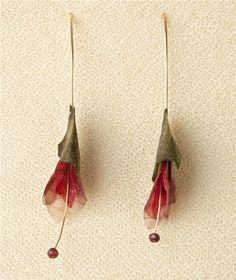 Red Onion and Zucchiniwith Garnet Stamen by Margaret Dorfman