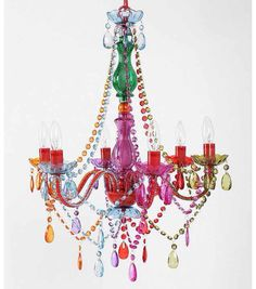 Totally fun bohemian styled chandelier from Urban Outfitters!