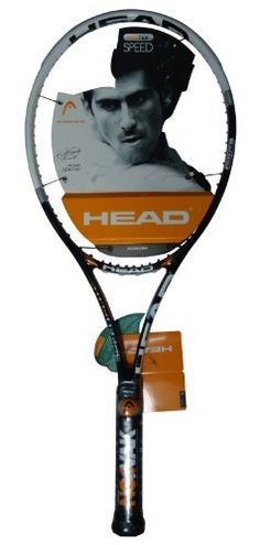 """Head YouTek IG Speed Elite Tennis Racquet-Unstrung (U20) by HEAD. $129.95. A Tour Light version providing complete tour performance with greater maneuverability. The slightly wider beam gives it even more power. Beam: 22mm. Head Size: 100. Weight: 10.1oz. Balance: Head Light. Length: 27"""". Swing Style: L1. String Pattern 16/19. 230671.. Save 38% Off!"""