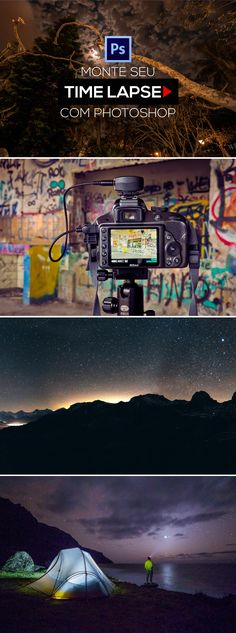 Timelapse with Photoshop