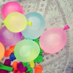 water balloons for a #savvysummer