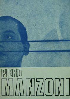 Piero Manzoni Collezione  Le presenze della Galleria Blu 1970 edizione galleria Blu testo Daniela Palazzoli pag. 12 cm. 23,5x16,9.