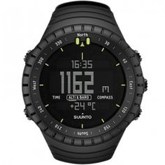 Suunto Core All Black Military Digital Watch - SS014279010 - Large
