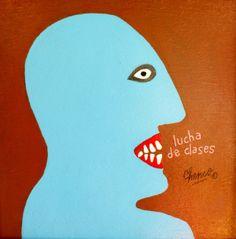 Chenco Original Painting 12 x 12 Lucha de by TheModernHistoric, $600.00