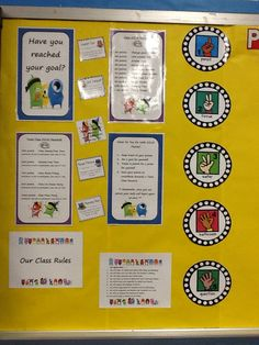 Interesting board- we could definitely use the finger system with photos in addition to what is there- MP Class Dojo Rewards, Class Reward System, Classroom Rewards, Classroom Procedures, Classroom Organisation, First Grade Classroom, New Classroom, Teacher Organization, Classroom Displays