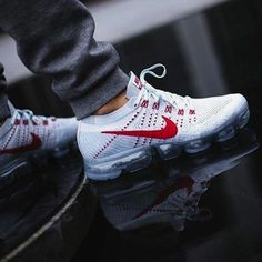 Men's sneakers. Sneakers have already been a part of the world of fashion for more than perhaps you believe. Present-day fashion sneakers bear little likeness to their early forerunners however their popularity remains undiminished. #MensFashionSneakers Nike Trainers, Sneakers Nike, Sneakers Fashion