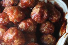 cranberry chipotle cocktail meatballs - the gourmand mom (denise made and recommended)