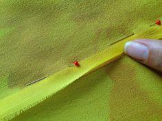 Платье отрезное по талии: как соединить двойной лиф с юбкой