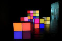 Loove loove love   Angela Bulloch, glant pixels