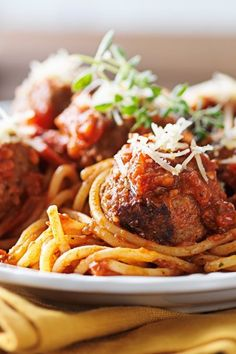 Delicious and easy to make meatballs. #meatballs #recipe #meat #dinner #cheese #beef #garlic #parsley #italian
