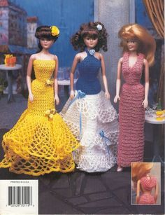 Barbie Crochet Patterns 2 - D Simonetti - Picasa Web Albums