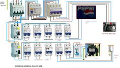 Esquemas eléctricos: CUADRO GENERAL BAR SOLON