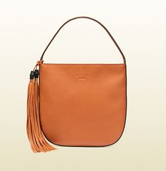 Gucci - lady tassel leather hobo 354475A7M0G7627